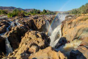 Epupa falls Kunene river Kaokoland